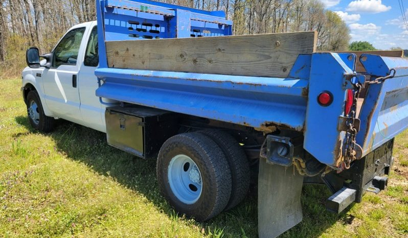 SOLD! 2003 Ford F-350 SD Extended Cab Dump Truck full